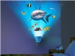 Shark Encounter Wild Walls - Water Wave Light Effects