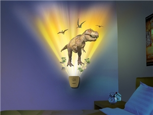 Dinosaur Expedition Wild Walls - Sun Ray Projector Light Effects