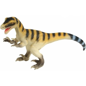 "Adventure Planet Large Soft 20"" Velociraptor Dinosaur Toy"