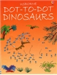Dot to Dot Dinosaur Book, connect the dots book, kids connect the dots book, usborne dinosaur books,