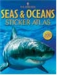 Seas & Oceans Sticker Atlas Book, ocean book, sticker books, seas and ocean sticker book, sea sticke