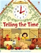 Telling the Time Book, learn to tell time book, usborne book, usborne books, telling the time book,