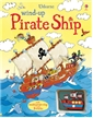 Wind-Up Pirate Ship Book, wind-up books, pirate books, pirate ship books, kids pirate book, usborne