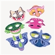 Foam Dinosaur Face Masks - 12 Pack