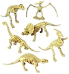 "6"" Toy Skeleton Dinosaurs - 12 Pack"