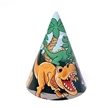 Dino Paper Hats - 12 Pack, Dinosaur party favors, Dinosaur birthday supplies, Dinosaur party hat