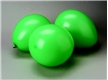 Green Balloons - 12 pack
