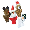 Holiday Stocking Stuffer - 12 Christmas Finger Puppet