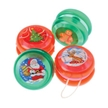 Holiday Stocking Stuffer - 12 Mini Christmas Yo-Yos