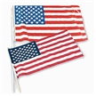 Small Cloth USA Flags- 12 pack - 4