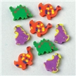 Mini Dinosaur Erasers - 144 Pack