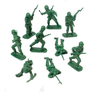 Bulk Toy Soldiers-36 Pieces