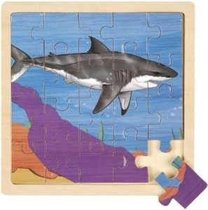 Wooden Jigsaw Puzzle- Shark