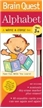 Brain Quest Write & Erase Set-Alphabet, baby book, baby books, toddler books, teaching books, alphab