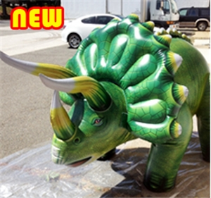 XL Triceratops Inflatable Dinosaur 120""