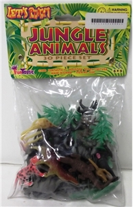 Jungle Animals - 30 piece set