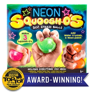 Neon Squoosh-O's D.I.Y. Stress Ball Kit
