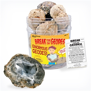 Break Your Own Geodes - Ginormous Trancas Geode Bulk Pack 48