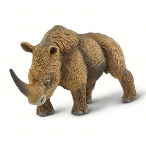 Wild Safari Woolly Rhino Replica Toy Model
