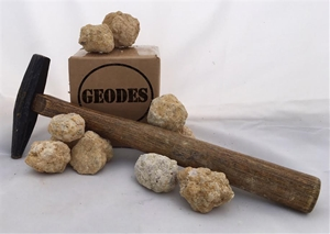 Box of 10 Small Moroccan Break Your Own Geodes
