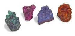 Colored Amethyst Clusters Mineral Rock - rocks for sale - buy rocks