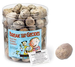 Geodes, geode , Large Break-Your-Own Geode, geode, geodes, whole geode