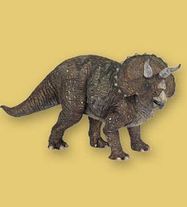 Papo Dinosaurs Triceratops Toy Model