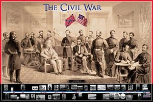 The Civil War - Laminated Poster