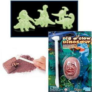 Dig A Glow Dinosaur Egg Kit, dig a glow dino, dinosaur dig kit, dino dig, dig a dinosaur
