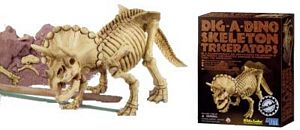 Dig-a-Dino Triceratops, dig a dino, dig dino, i dig dinosaurs kit, diggin dinosaurs toy