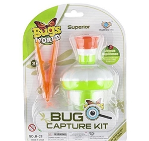 Bugs World Capture Microscope Kit with Tweezers