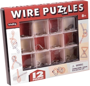 Wire Puzzles Gift Set