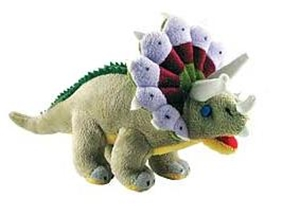 Cuddle Zoo Triceratops - Stuffed Animal Dinosaur Toy 12""